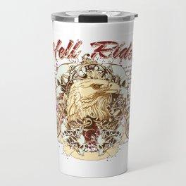 eagles motorcycle Travel Mug