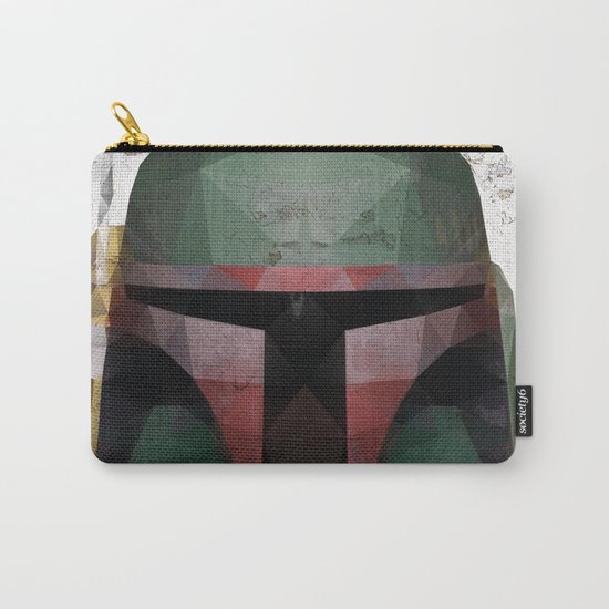 Boba Fett Low Poly Carry-All Pouch