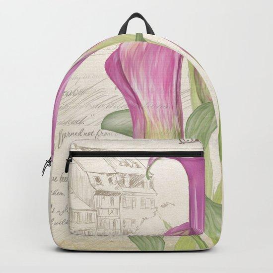 Macro flower #11 Backpack