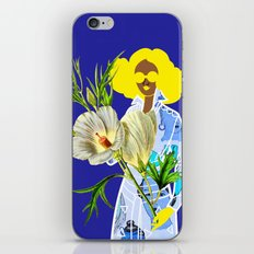 Faces on Her Dress iPhone & iPod Skin