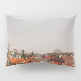 Roofs of the small town Pillow Sham