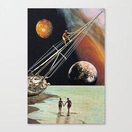 Set Sail for the Stars Canvas Print