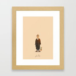 Jean Reno - Léon: The Professional Framed Art Print