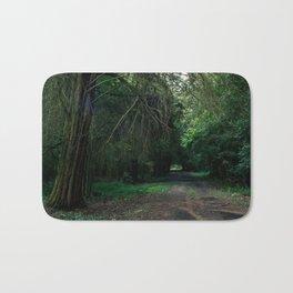 Forest in autumn Bath Mat