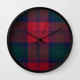 Love Tartán (10) - Lindsay Wall Clock