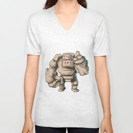 Clash of Clans The Mighty GOLEM Unisex V-Neck