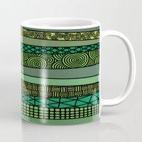 bamboo Mugs featuring Bamboo by glorya
