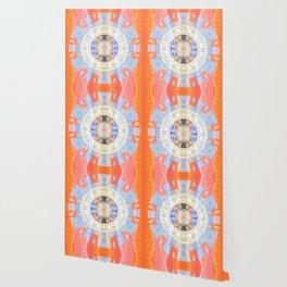 Transparent Odyssey Shamanic Journey Aztec Mandala Wallpaper