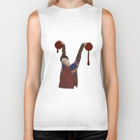 vampire diaries Biker Tanks featuring Vampire by mycolour