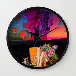 """""""chill out"""" valentine series by weart2.com Wall Clock"""