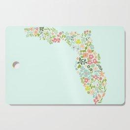 Florida Florals Cutting Board