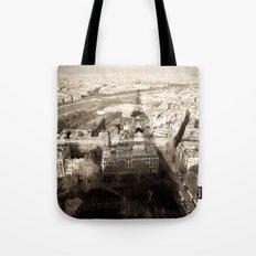 Shadow Over Paris Tote Bag