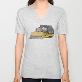 KILLDOZER TREAD BACK Unisex V-Neck