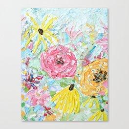 Floral Dreamland Canvas Print