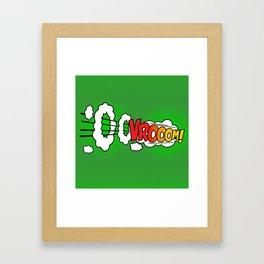 Vroom ! Framed Art Print