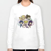 sailor moon Long Sleeve T-shirts featuring Sailor moon by Madoso