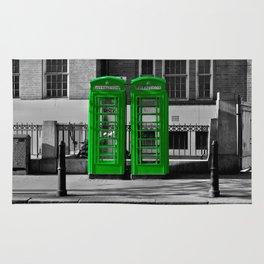 Phone box gone green  Rug