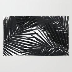 Palms Black Rug