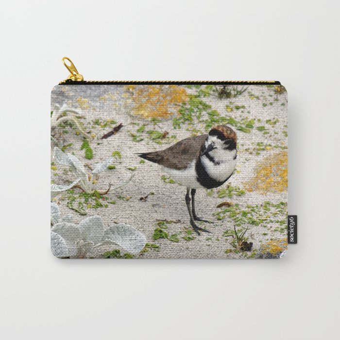 Two Ring Plover Carry-All Pouch