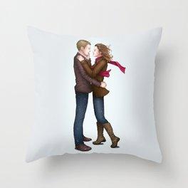 Fitzsimmons - Winter Fluff Throw Pillow