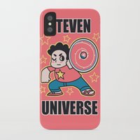 steven universe iPhone & iPod Cases featuring Steven by ZoeStanleyArts