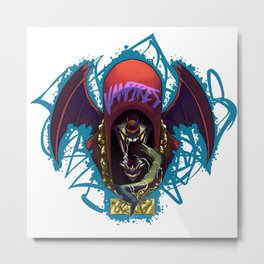 biters of the internet: Vampires Metal Print