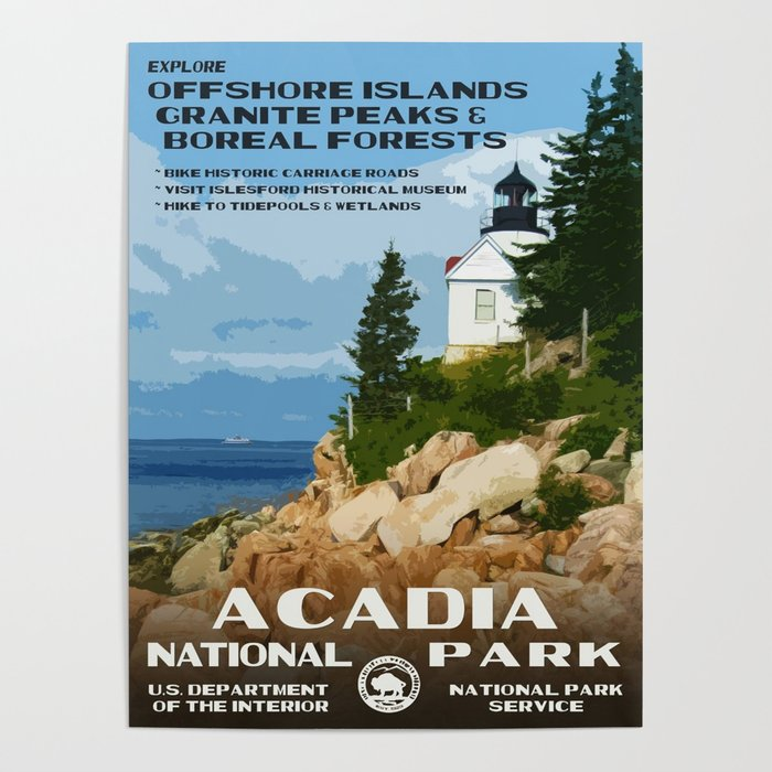 Original National Park Posters
