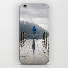 Living on the Edge iPhone & iPod Skin