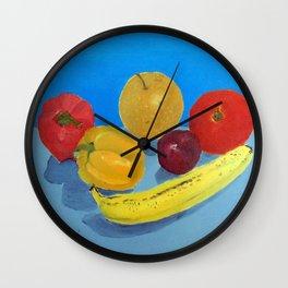 Community College Painting 101 Still Life Wall Clock