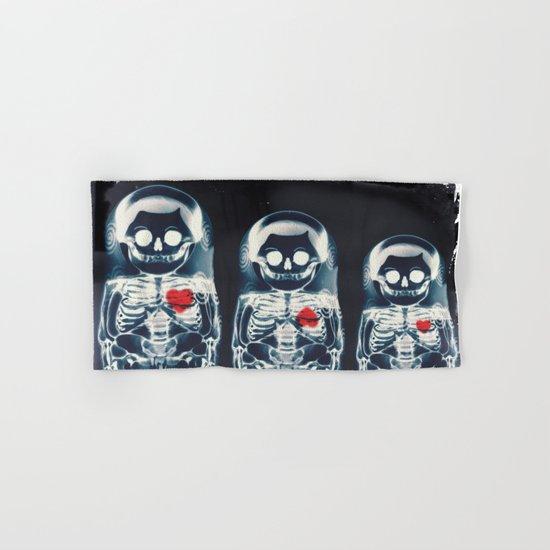 Nesting Doll X-Ray Hand & Bath Towel