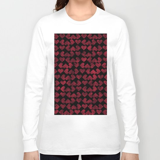 Colorful Love Pattern XV Long Sleeve T-shirt