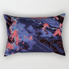 Glitch Cartography #1 Rectangular Pillow