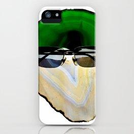 Gemstone Head with Sunglasses iPhone Case