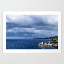 The straif of Bonifacio Art Print