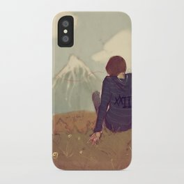 Here and There iPhone Case
