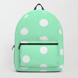 POLKA DOT ((seafoam green)) Backpack