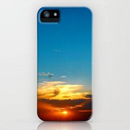 Sunset 071318 Abilene, Texas iPhone Case