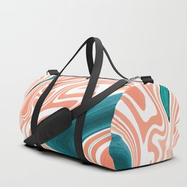 Melted Azur Duffle Bag