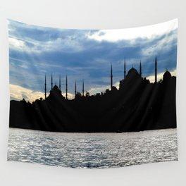 Sultanahmet Camii Skyline Istanbul Turkey Wall Tapestry