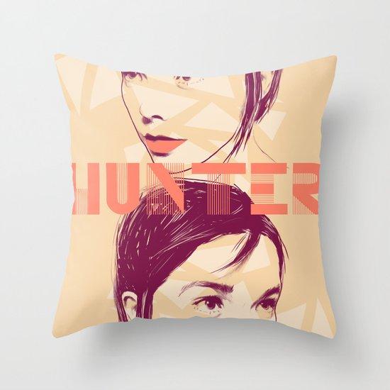 Bjork Throw Pillow