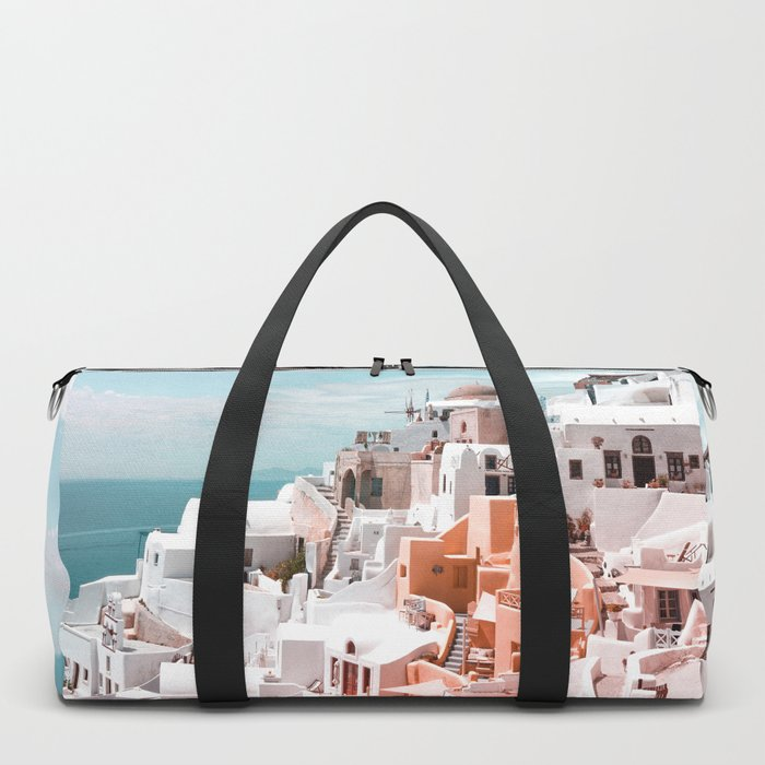 Santorini, Oia Duffle Bag