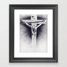 Cristo Dalì Framed Art Print