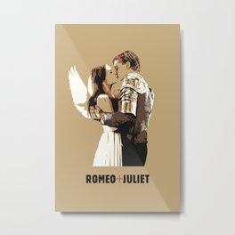 Romeo + Juliet Metal Print