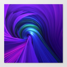 Twisting Forms #6 Canvas Print