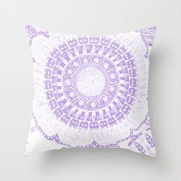 Indian Decoration Vector Throw Pillow