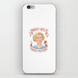 Nobody Likes a Soggy Bottom iPhone Skin