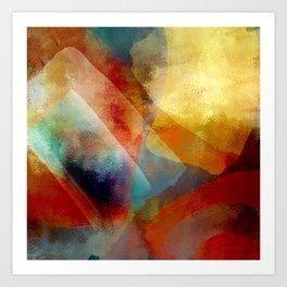 Abstrait Art Print