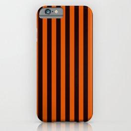 Halloween Stripes iPhone Case