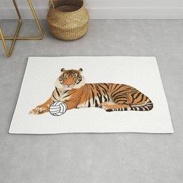 Volleyball Tiger Rug