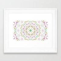 tye dye Framed Art Prints featuring Kaleidoscope Tye Dye  by Skrinkladado